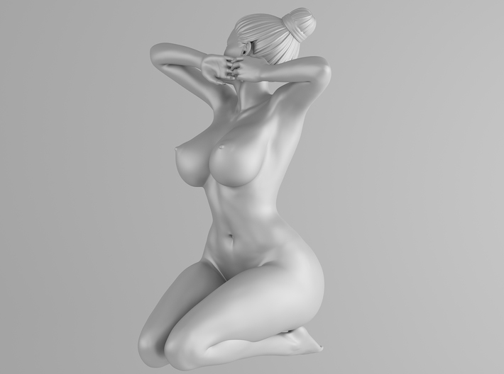Plump sexy girl 003 Scale in 1/10 3d printed