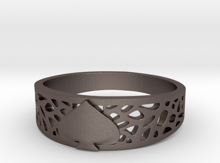 Ace Ring_Web 3d printed