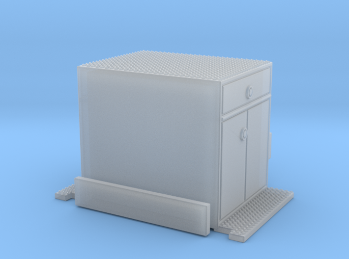 Crown Snorkel cabinet section 1/64 3d printed
