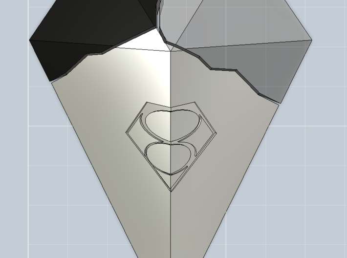 Smallville - Crystal Of Air *1/6th Scale* 3d printed Shown with other two crystals