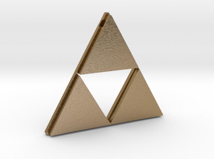 [Zelda] Triforce Pendant 3d printed