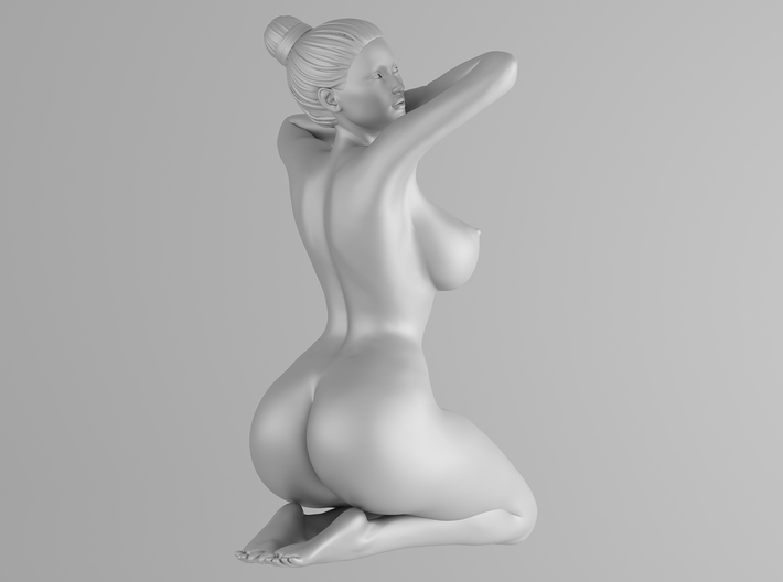 Scale in 1/32 Plump sexy girl 003 3d printed