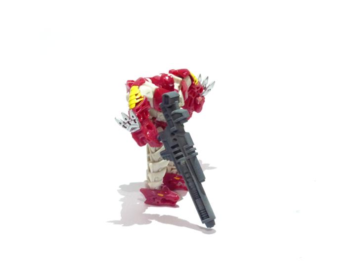 Legion TFP Hun-Gurr Blaster 3d printed