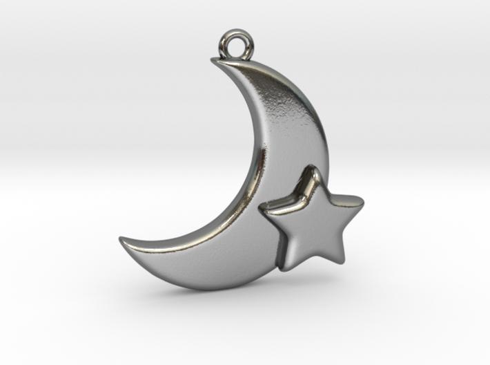 Moon&Star 3d printed
