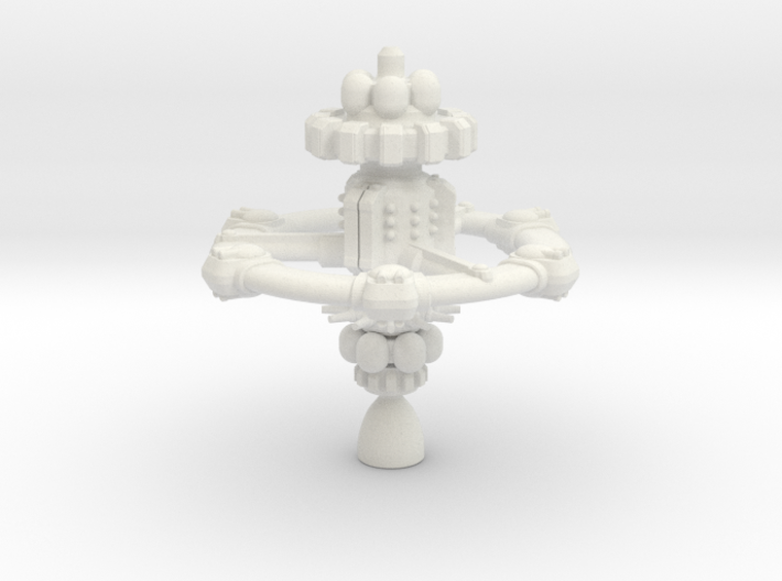 Privateer Mobile Fortress 3d printed
