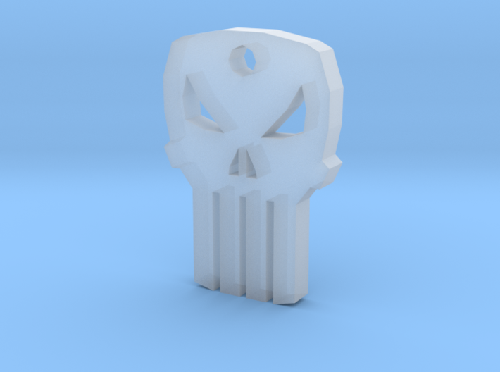 Punisher Keychain 3d printed