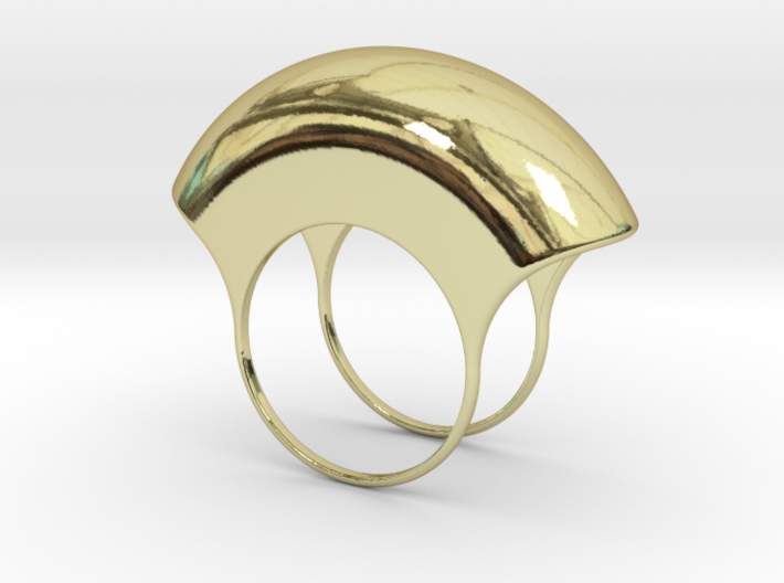 Lid for Pillbox Ring - size 10 3d printed