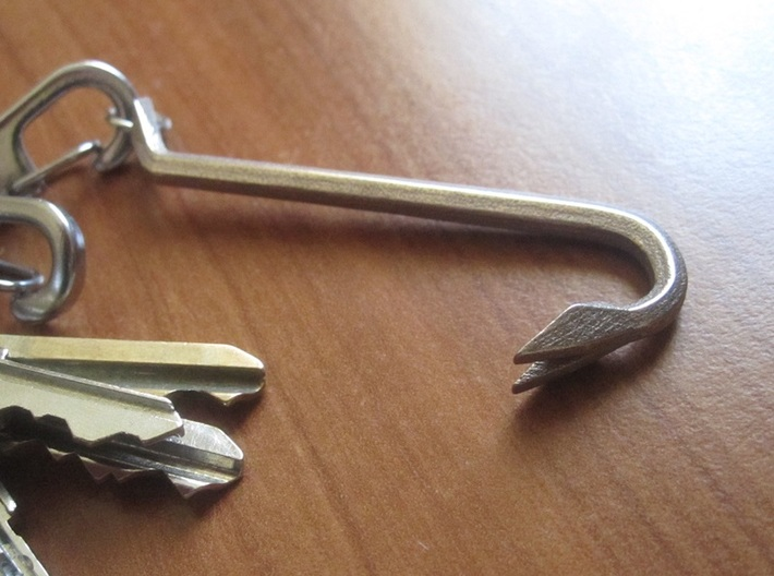 Keychain Mini Crowbar Tool - Medium 3d printed