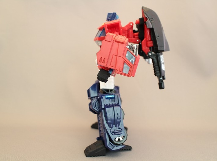 Classics Optimus Prime Weapon Hold Parts 3d printed