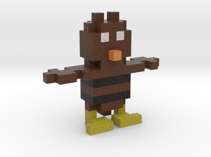 Owl for Minecraft 3d printed