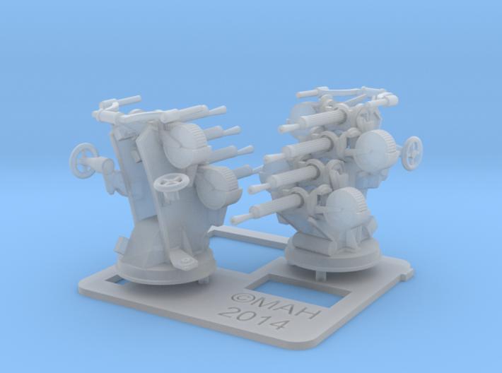 Quad Vickers x 2 1/96 3d printed