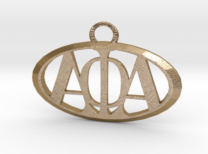 Alpha Phi Alpha Pendant 3d printed