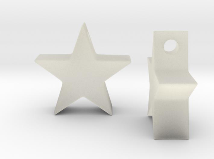 MovieStarEarring 3d printed
