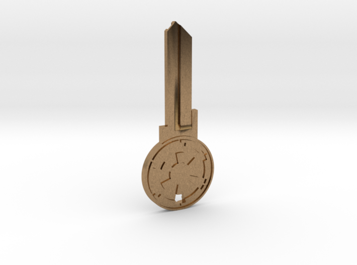 Empire House Key Blank - KW11/97 3d printed