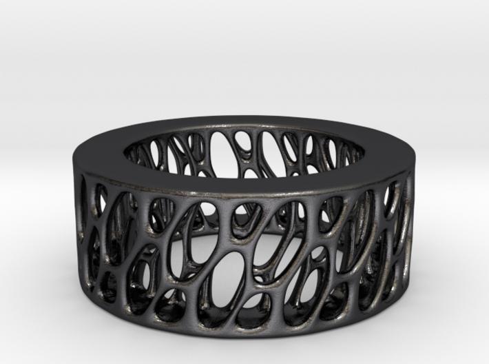 Framework Ring- Intrincate Smooth Simple 3d printed