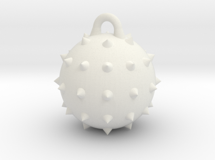 Wrecking Ball Spiked 3d printed