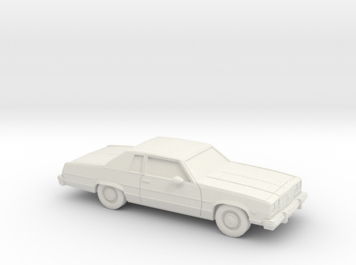 1/87 1977 Oldsmobile Delta 88 Coupe 3d printed