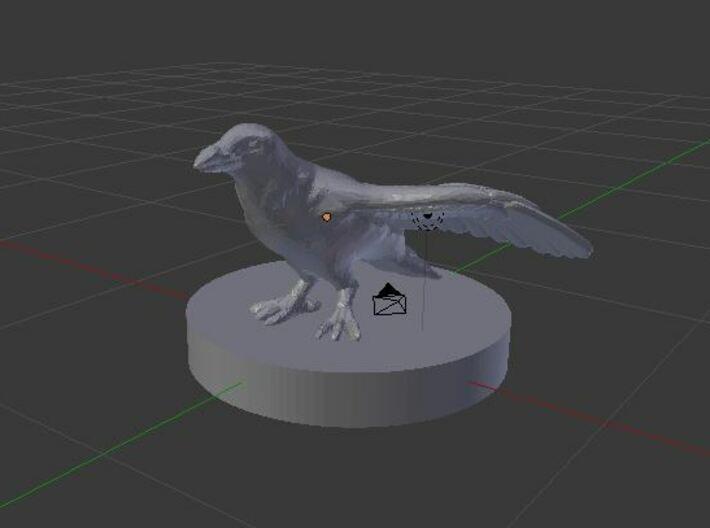 Raven 3d printed