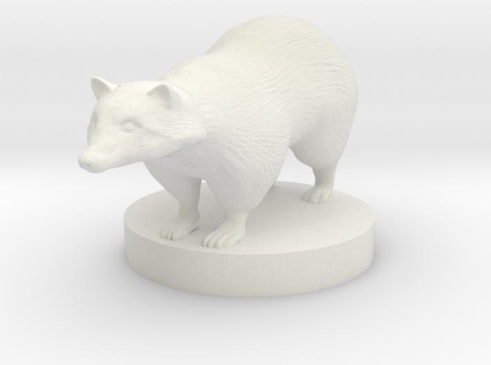 Badger 3d printed