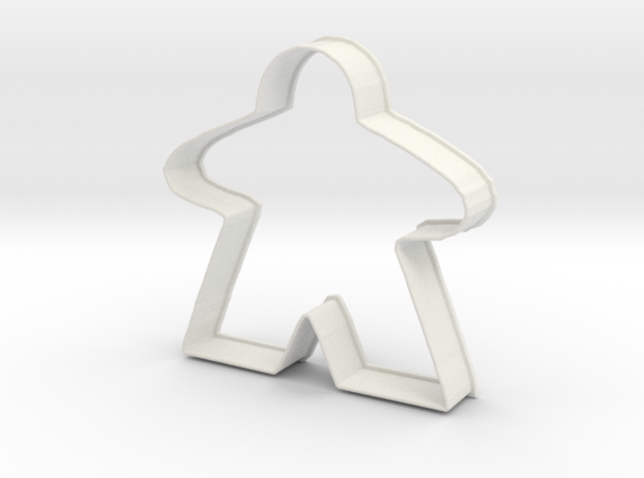 Meeple Cookie Cutter 3d printed