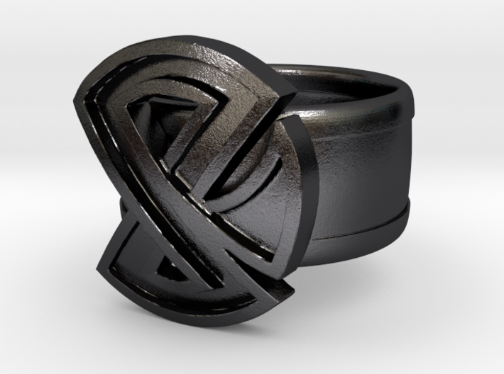 Restraint Ring (18.9mm/size 9) 3d printed