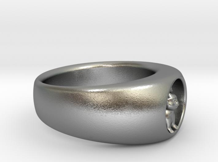 Ø0.716/Ø18.19 mm Koala Ring 3d printed