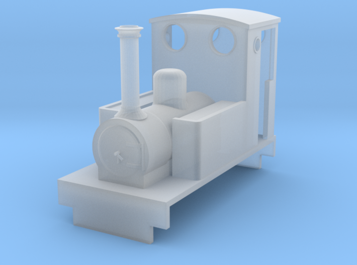 009 Fletcher Jennings Side Tank 1 - Minitrains St 3d printed