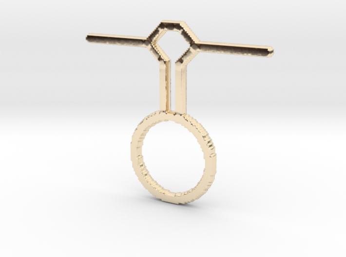 Pendulum Pendant 3d printed