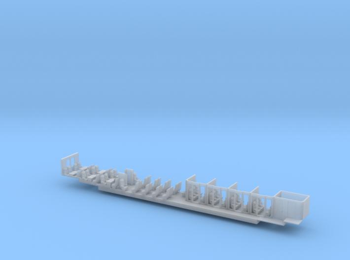 ICE1 Inneneinrichtung 2. Klasse  3d printed