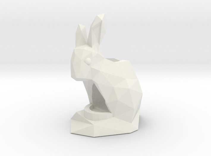 Rabbit Pencil & Pen Holder 3d printed