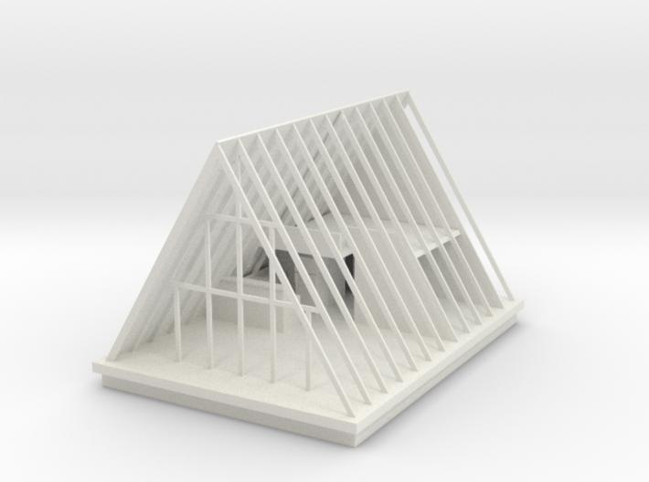 A-frame cottage 3d printed