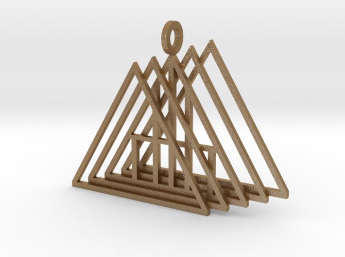 A Frame pendant 3d printed