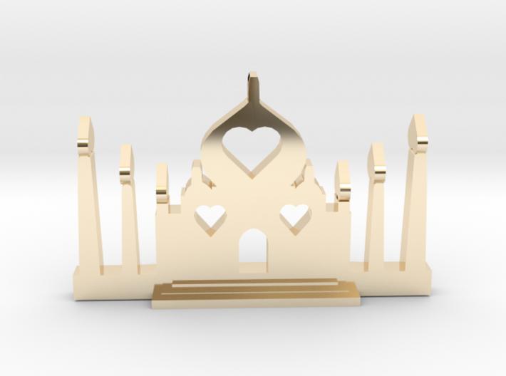 Taj Mahal- Pendant 3d printed