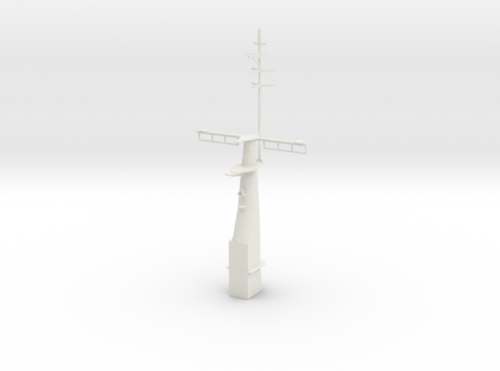 1/96 scale Hamilton Mast Front 3d printed