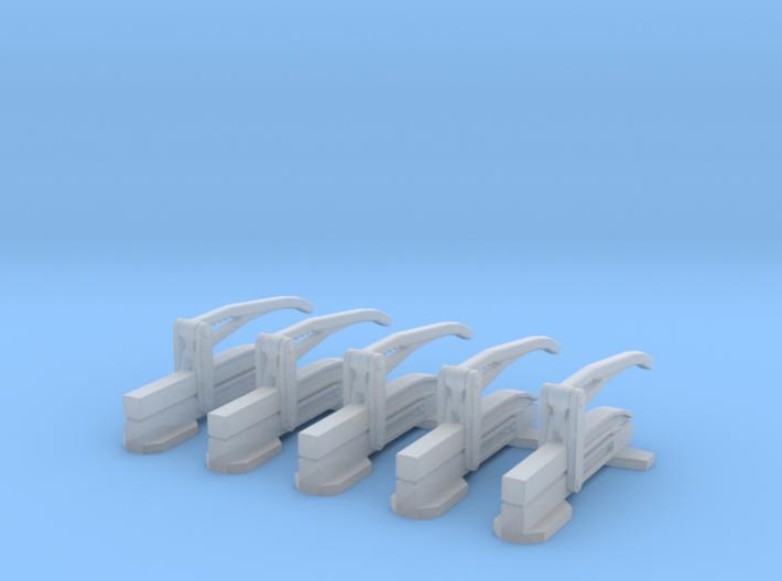1-64 Hose Clamp 2 Set5 3d printed