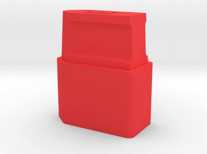 XT60 Safety Cap - 'E' for Empty - Stackable 3d printed