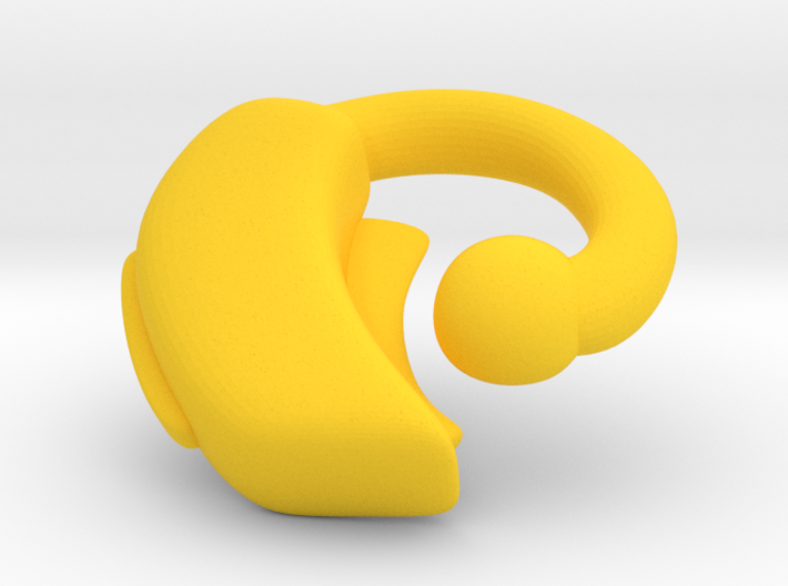 Makies Hearing Aid: RIGHT EAR 3d printed