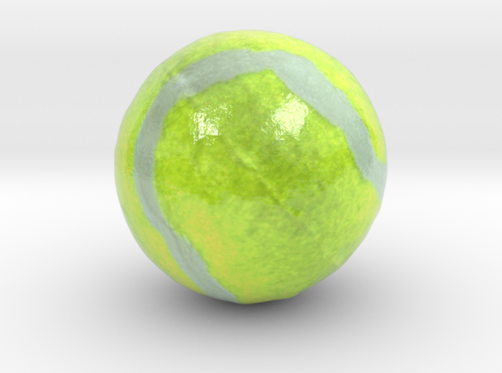 The Tennis Ball-mini 3d printed