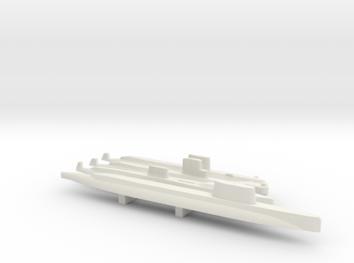 US Early unique SSN Pack, 4pc, 1/1800 3d printed