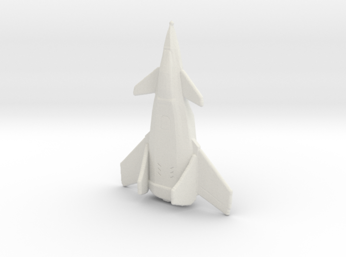 Crow Jet Fighter 3d printed