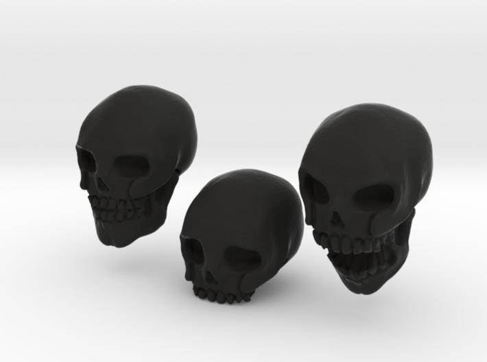 Skulls 3d printed