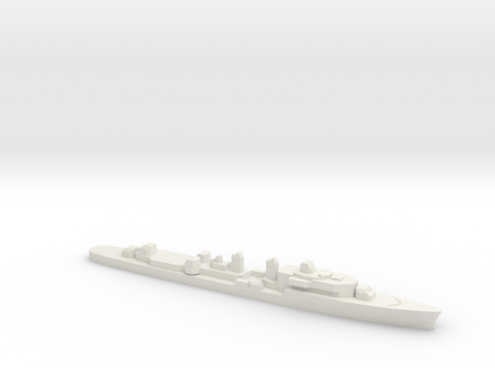 T47 Class Command Destroyer (1962), 1/1800 3d printed