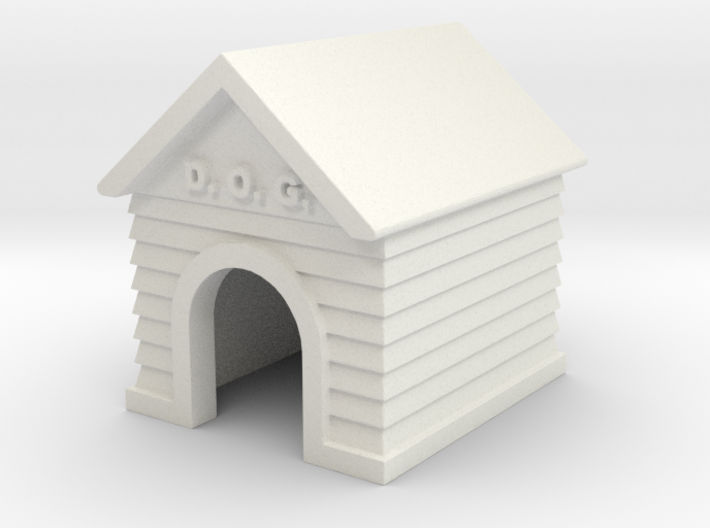 Doghouse - 'O' 48:1 Scale 3d printed