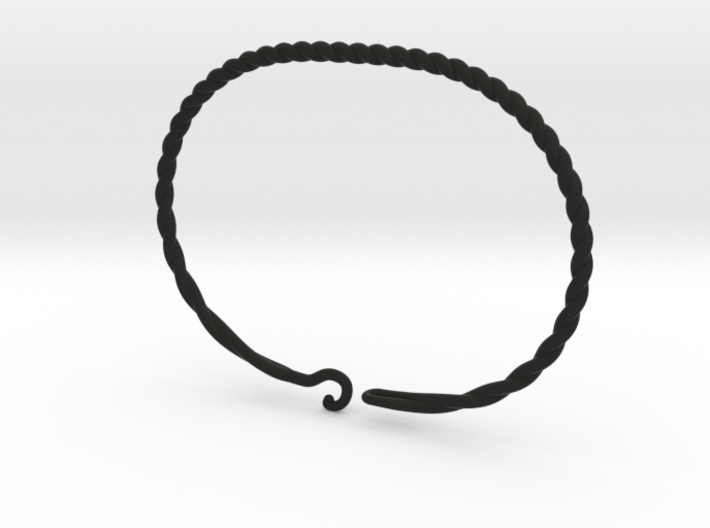 Bracelet for charms - size M (19 cm) 3d printed