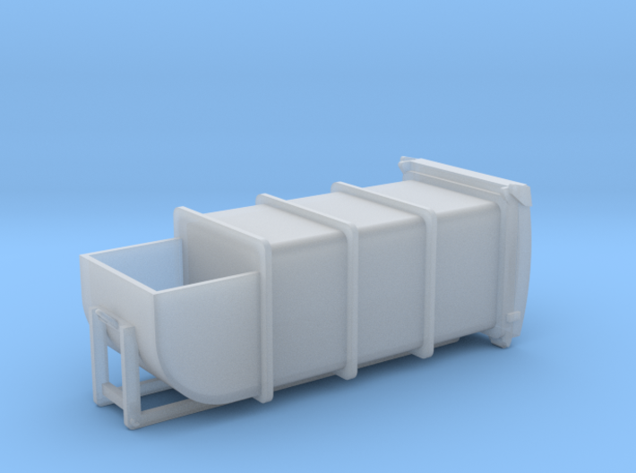 N Scale Waste Compactor Container #2 3d printed