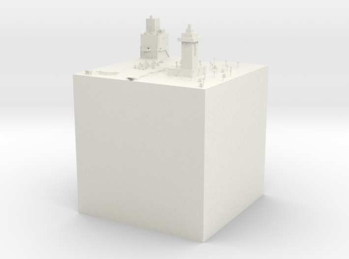 Gurfun's minecraft competition submission 3d printed