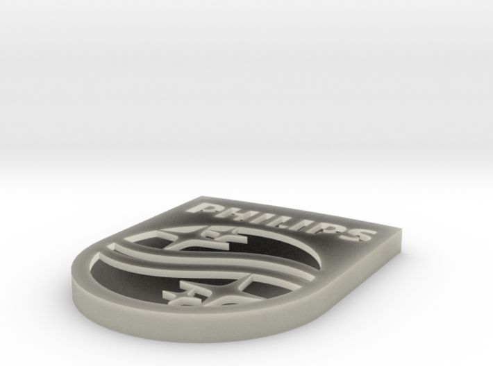 Philips Final Shield2 Manchetknoop 3d printed