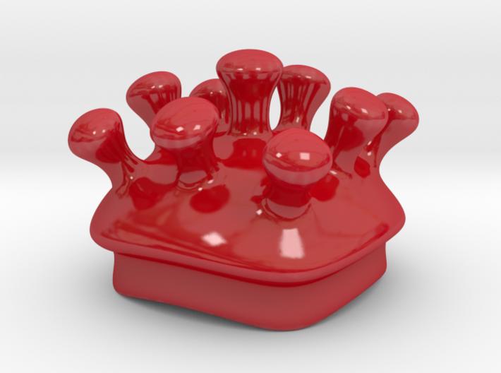 Microbe Sugar Bowl Lid 3d printed