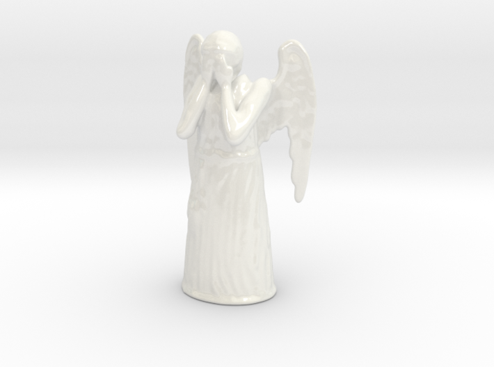 Crying Angel 3d printed