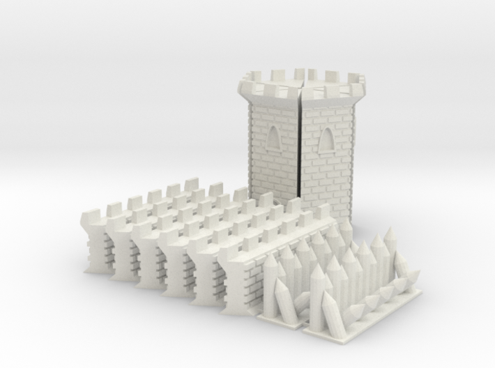 Castle Panic Castle Upgrade 3d printed